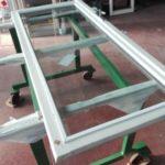 modifica infisso per alloggiamento vetro termico | vetreria esinvetro jesi