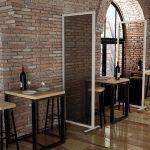 barriere protettive per ristoranti