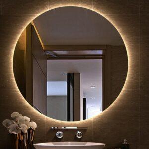 Specchio Rotondo a LED su MISURA con illuminazione Posteriore