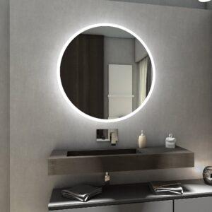 Specchio Rotondo a LED su MISURA con illuminazione circolare