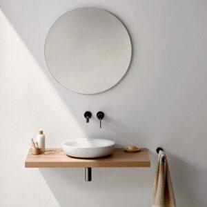 Specchio 5mm Rotondo da parete su MISURA