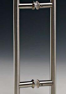 Maniglione in acciaio inox ø16mm