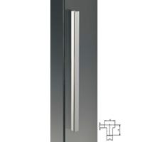Maniglione in alluminio 18x18mm