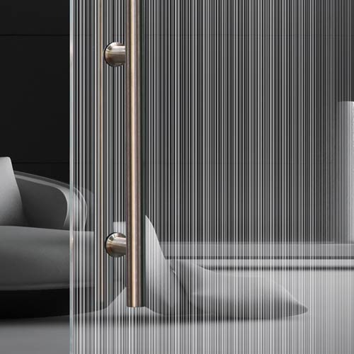 madras double strip | vetri decorati | vetreria esinvetro jesi