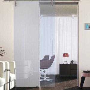 Porta Scorrevole in vetro 10mm Trasparente