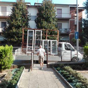 modifica finestre | modifica alloggiamento vetro termico | vetreria Esinvetro jesi