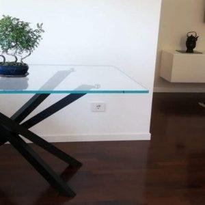 tavoli in vetro | tavolo in vetro shangai | vetro arredo | vetreria esinvetro jesi