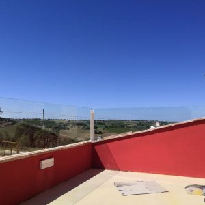 parapetti in vetro Agriturismo Olinda San marcello (AN) | vetreria Esinvetro Jesi